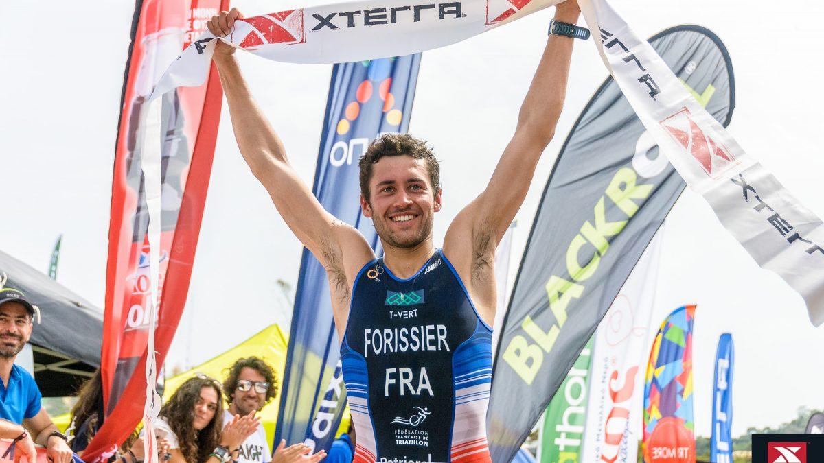 Arthur Forrisier (FRA) gewinnt XTERRA Greece