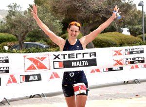 Brigitta Poor (HUN) gewinnt XTERRA Malta
