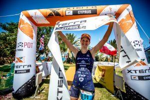Brigitta Poor (HUN) gewinnt XTERRA Zypern
