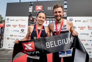 Francois Carloni und Morgan Riou gewinnen XTERRA Belgium